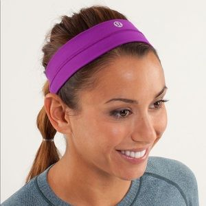 RARE Purple lululemon headband